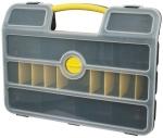 """Ящик для инструмента пластиковый 21"""", 46,3х34,3х9 см, FIT, 65656"""