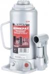 Домкрат гидравлический бутылочный, 15 т, h подъема 230–460 мм, MATRIX MASTER, 50729